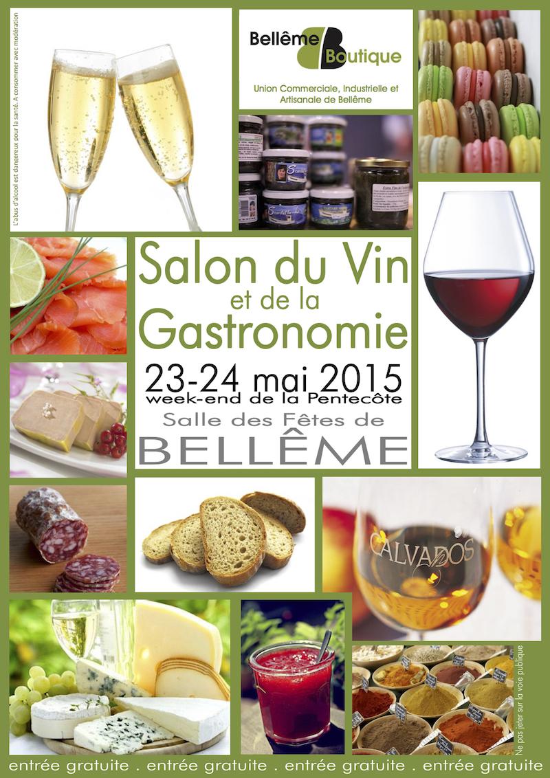 Salon du vin de la gastronomie 23 24 mai 2015 bell me for Salon du vin toulouse 2017