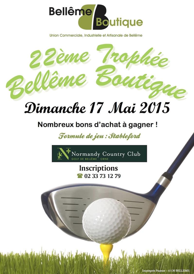 affiche trophée belleme boutique2015