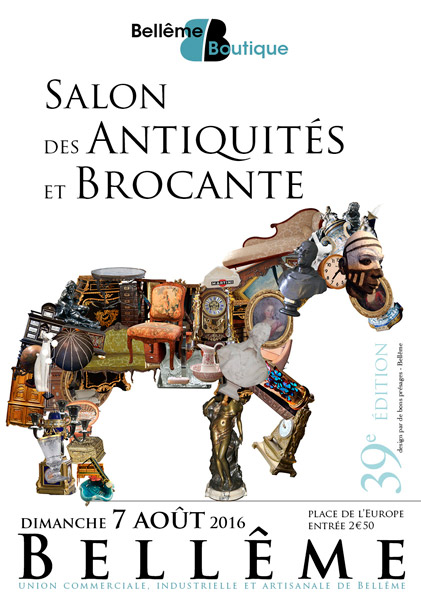 affiche Salon Antiquités - 2016