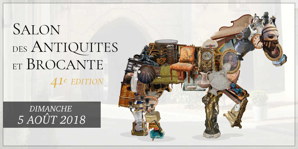 Salon des antiquités et brocante belleme 2018