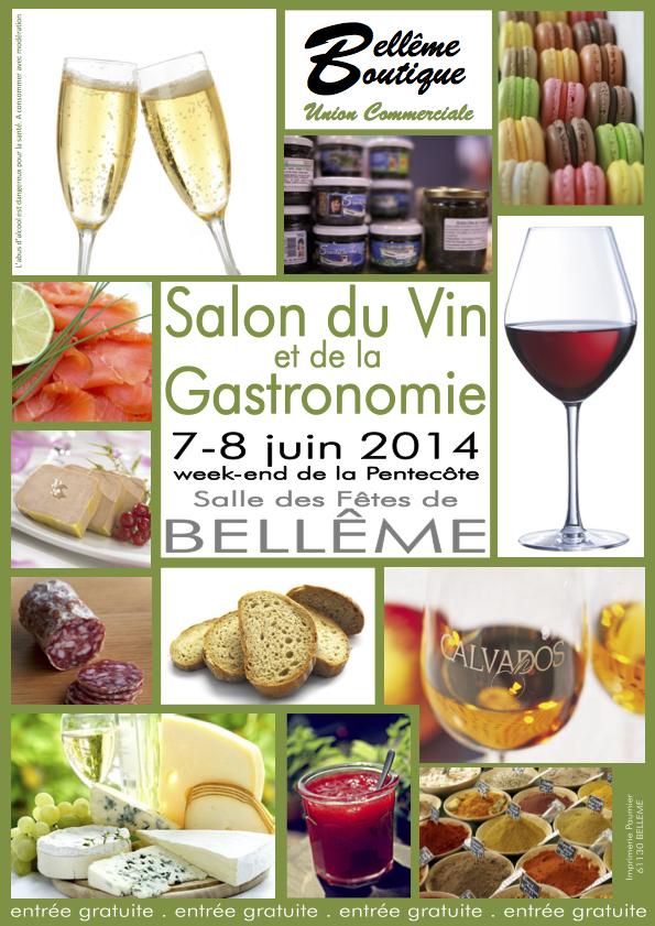 4 affiche 2014 salon de la gastronomie