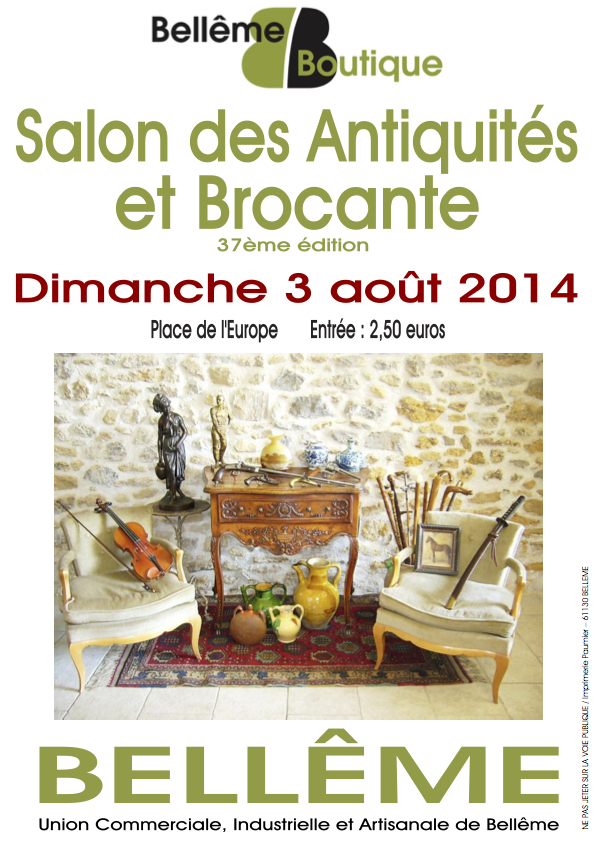 7 affiche 2014 salon antiquaires