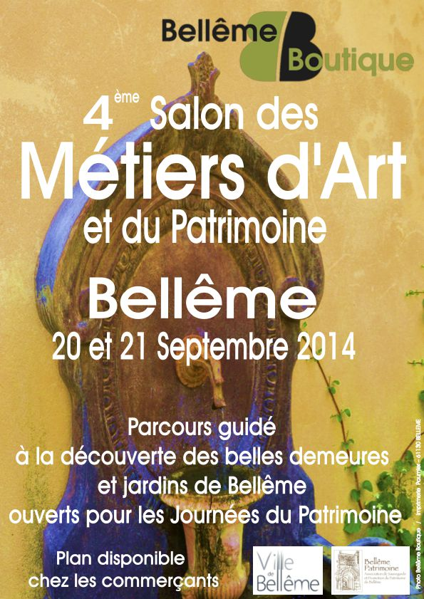 Affiche salon metiers d art 2014